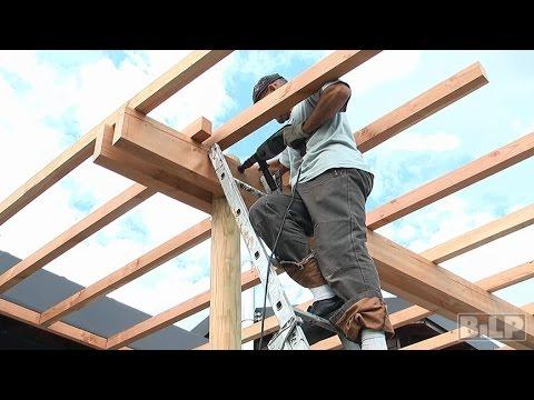 Comment Construire Une Pergola En Bois
