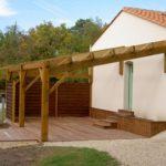 Construction d une pergola en bois plan