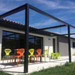 Pergola contemporaine design