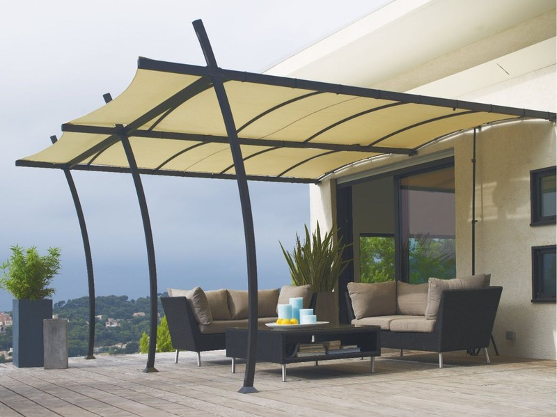 pergola jardiland. Black Bedroom Furniture Sets. Home Design Ideas
