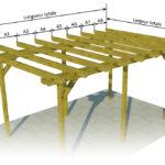 Plan de pergola en bois