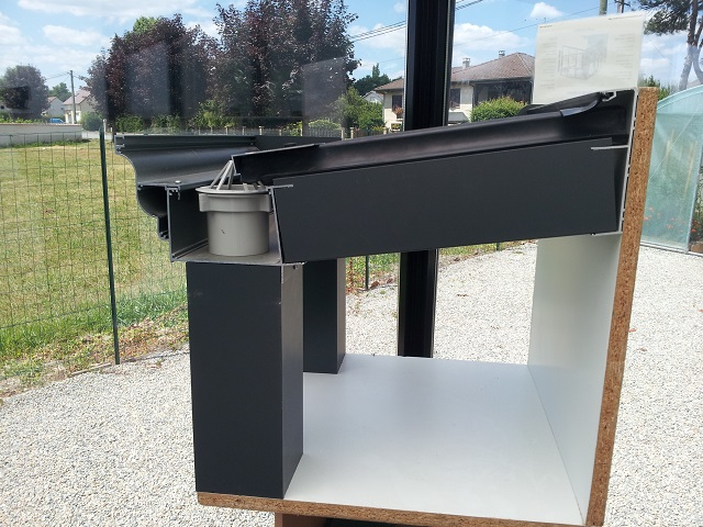 poteau aluminium pour pergola. Black Bedroom Furniture Sets. Home Design Ideas