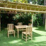 Comment construire une pergola en bambou