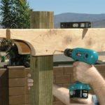 Comment construire une pergola en bois soi-même