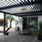 Couverture terrasse lames orientables prix