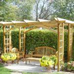 Fabriquer tonnelle de jardin
