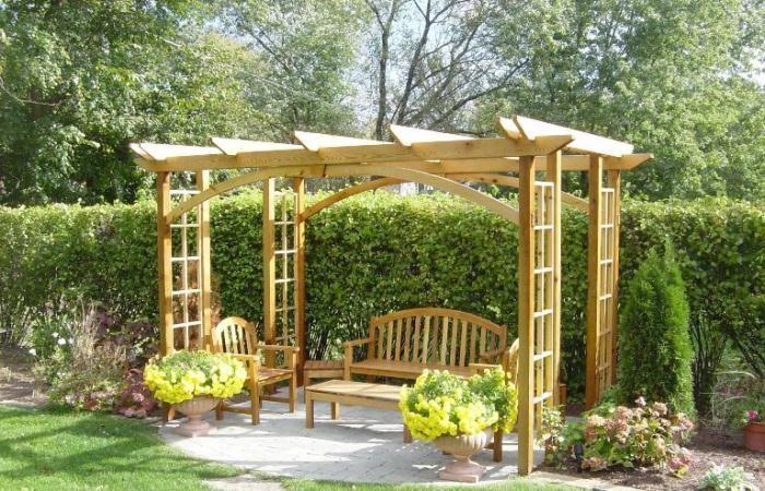 Fabriquer tonnelle de jardin Tonnelle de jardin destockage