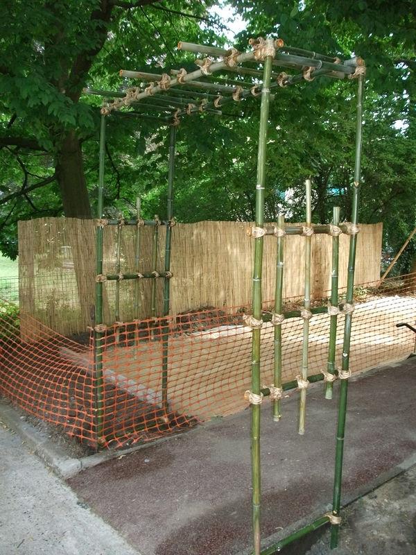 Fabriquer Une Pergola En Bambou