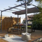 Photos de pergola for Prix pergola lames orientables leroy merlin