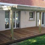 Pergola bois pour terrasse