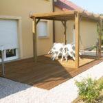 Pergola terrasse en bois