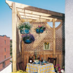 Petite pergola pour balcon