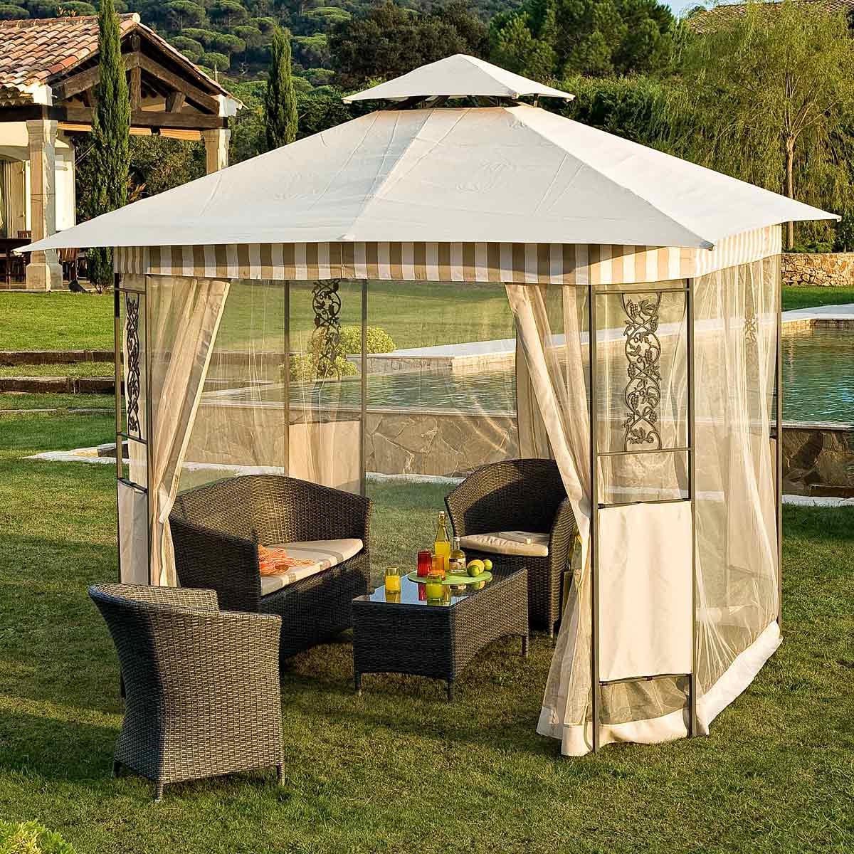 petite tonnelle de jardin. Black Bedroom Furniture Sets. Home Design Ideas