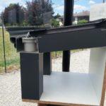 Poteau en aluminium pour pergola
