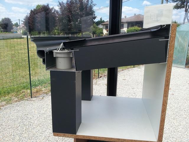 poteaux en aluminium pour pergola