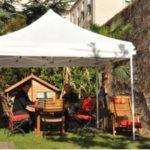 Tente pour terrasse
